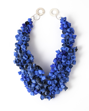 Posidonia Thick Necklace blue/black