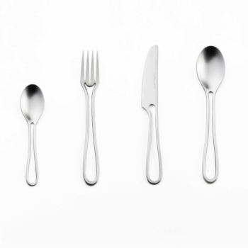 Outline cutlery matte 24 pieces dining set