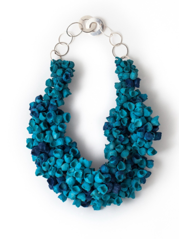 Posidonia Thick Necklace turquoise/blue