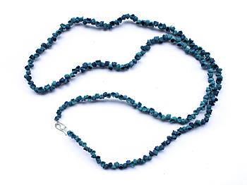Posidonia Extra Long Turquoise Necklace