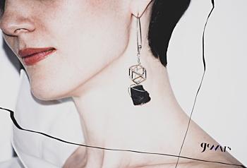 Kleio Sterling Silver Earrings