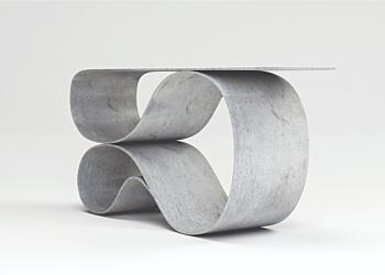 Whorl Console- Concrete Canvas