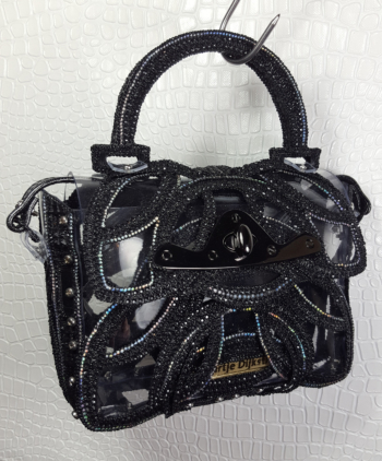 PRINTED HANDBAG BLACK 2