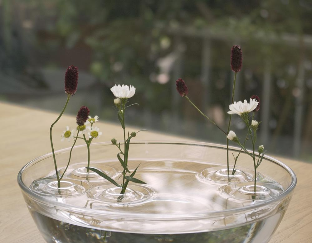 Floating vase: Unanchored, happy life